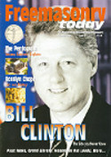 Bill Clinton, Freemasonry Today Magazine Cover, Freemasonry, Freemasonry, Masonic Lodge