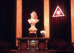Paris, Altar, France, Grand Orient,  Freemasonry, Freemasonry, Masonic Lodge