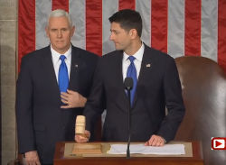 Vice-President Pence, Speaker Ryan, President Trump, State of the Union Address, U.S., Masonry, Freemasonry, Freemasonry, Masonic Lodge