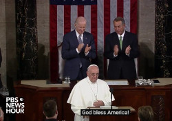 Pope Francis, U.S. Congress, Washington DC, handsign, Freemasonry, Freemasonry, Masonic Lodge